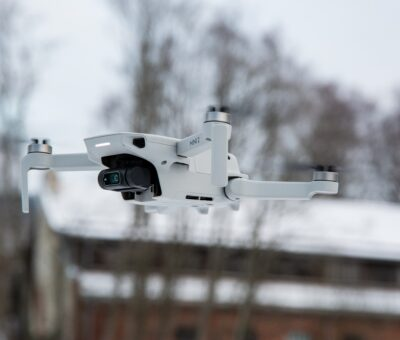 The DJI Mini 2 drone with the ability to record 4K video was introduced
