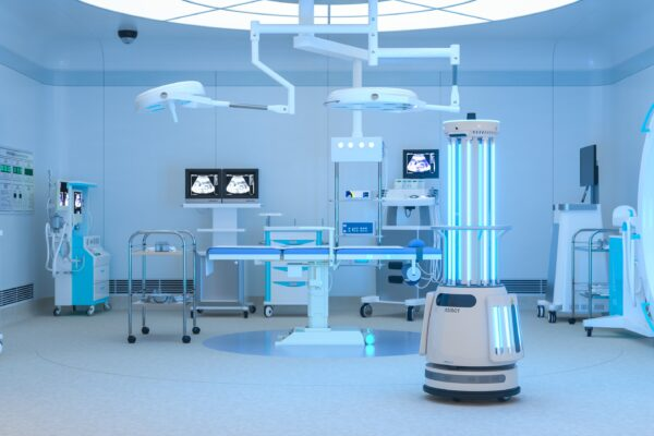 Stay Clean with Ubtech Adibot UV-C disinfecting robot